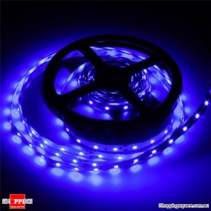 3528 300 5M 10.8W DC12V LED Strip Light With DC female Connector - Blue