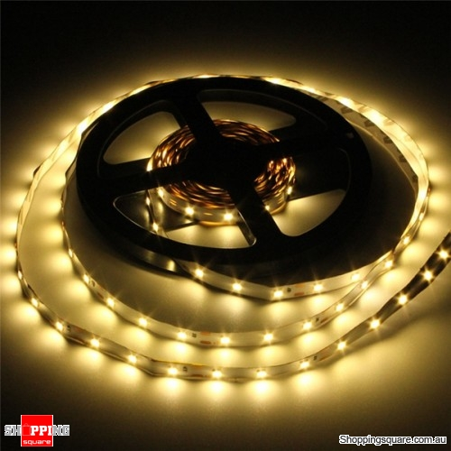 3528 300 5M 10.8W DC12V LED Strip Light With DC female Connector - Warm White