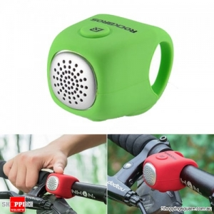Waterproof Cycling Alarm Bell 90 dB Handlebars Silicone Bike Bells - Green