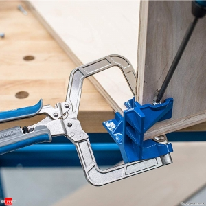 Auto-adjustable 90 Degree Corner Clamp Face Frame Clamp Woodworking Tool