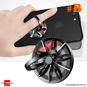 Baseus 10 Wheel Finger Ring Holder Finger Mobile Phone Holder Stand For iPhone X 8 Samsung S9 S8