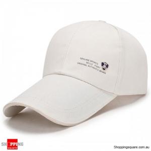 Adjustable Baseball Cap Buckle Hip-Hop Snapback Cap - Beige