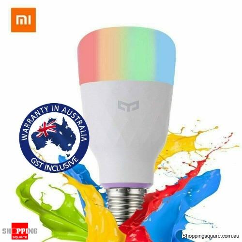 Xiaomi Yeelight 1S YLDP13YL 800lm 8.5W RBGW Smart LED Bulb Work With Homekit - E27 - Australian Standard