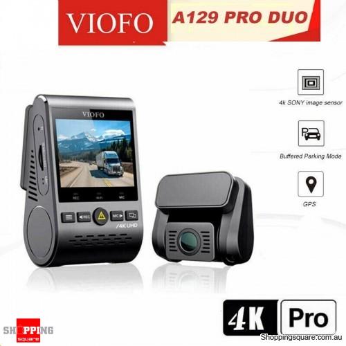 VIOFO A129 PRO DUO Ultra 4K Dashcam Dual Channel, GPS, WI-FI & Bluetooth Dash Camera