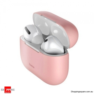 Baseus Silicone Case For Airpods Pro Wireless Bluetooth Earphone Case Pink Colour