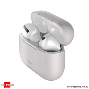 Baseus Silicone Case For Airpods Pro Wireless Bluetooth Earphone Case Grey Colour