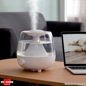 Baseus 2.4L Large Capacity Humidifier Essential Oil Diffuser Aroma Aromatherapy Household Air Purifying Mist Maker White