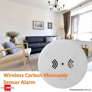 Smart 433MHz Wireless Carbon Monoxide Sensor Alarm for Home Security