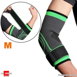 1PC Breathable Elbow Support Sports Fitness Elbow Brace Protection - Medium
