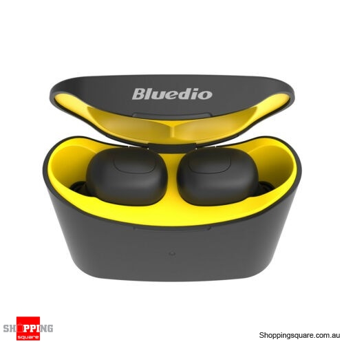 Bluedio T-elf Air pod Mini Bluetooth 5.0 Sports Headset Wireless Earphones - Yellow
