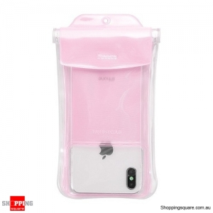 Baseus IP68 Waterproof Case For iPhone X XR XS MAX 8 7 Huawei P30 Samsung S10 Phone Pouch Bag Airbag Swimming Case Cover Pink