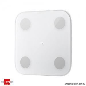 Original Xiaomi Smart Body Scale 2 Hidden LED Display Body Composition APP Monitor Big Feet Pad