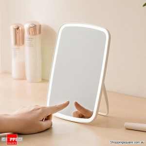 Xiaomi Youpin Portable Makeup Mirror Desktop LED Light USB Rechargeable Folding Touch Dimmable Lamp for Dormitory Home