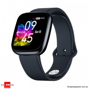 "1.3"" Light-weight Smart Watch - Black"