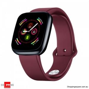 """1.3"""" Light-weight Smart Watch - Red"""