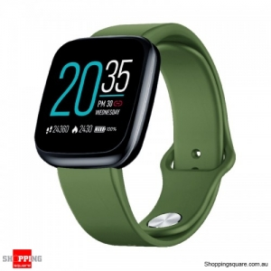 "1.3"" Light-weight Smart Watch - Green"