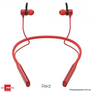 HOCO 2in1 Sport Bluetooth Earphone waterproof Wireless Headphones With Microphone Stereo surround Bass for iOS Android Red