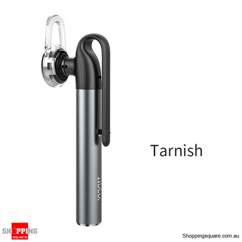 HOCO Mini Bluetooth Earphone with Microphone Wireless Headset for iPhone Invisible Earpiece Music in-ear Hook Handsfree Tarnish