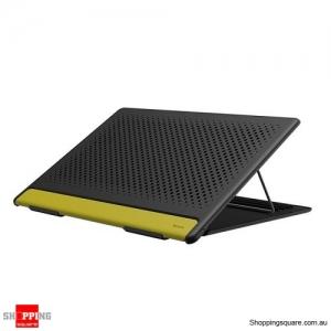 Baseus Adjustable Laptop Stand Folding Portable for Notebook MacBook Computer Bracket Lifting Cooling Holder Non-slip - Black