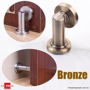 Stainless Steel Door Stopper Strong Magnetic Doormagnet Suction - Bronze