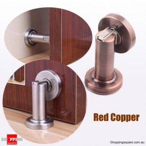 Stainless Steel Door Stopper Strong Magnetic Doormagnet Suction - Red Copper