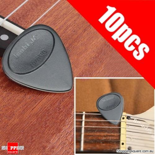 10pcs Guitar Pick Bass Ukelele Plectrum Toughness Anti Slip Design 0.7mm