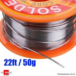 1pcs 22ft 50g Rosin Core Solder Flux Soldering Welder Iron Wire Reel