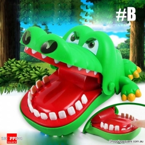 Bite The Hand Crocodile Trick Toys Novelties Board Game Gift - #B