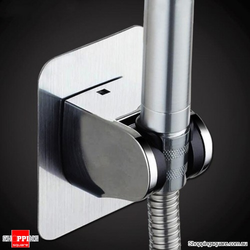Adjustable Shower Head Handset Holder Bathroom Wall Mount Bracket