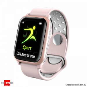 1.3inch Large View Display Music Control Smart Watch - Pink