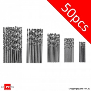 50pc Packs HSS High-speedTwist Drill Bit Steel Serratula Steel Wood-working