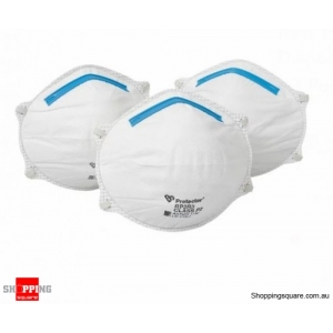 Protector P2 Dust Mist Work Mate Disposable Respirator - 3 Pack
