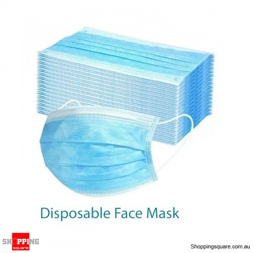 1x Disposable Face Mask Anti Dust 3 Layers Protective Filter - individually sealed