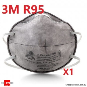 3M Particulate Respirator 8247, R95 GP2 Dust Mask, 1pc (Similar class as P2 N95 with oily particles protection)