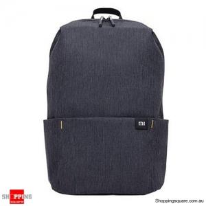 Original Xiaomi 20L Color Backpack Bag Women Men Storage Water Repellent Home Person Backbag - Black