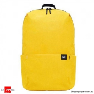 Original Xiaomi 20L Color Backpack Bag Women Men Storage Water Repellent Home Person Backbag - Yellow