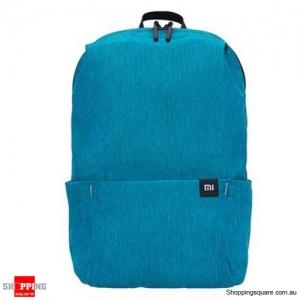 Original Xiaomi 20L Color Backpack Bag Women Men Storage Water Repellent Home Person Backbag - Light Blue