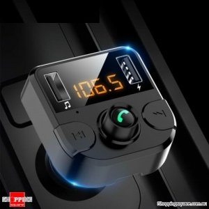 Handsfree Wireless Bluetooth Car FM Transmitter MP3 Music Player Adapter USB