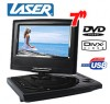 "Laser 7"" Portable DVD Player,Digital Tablet USB/SD Slot"