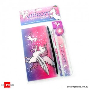 Unicorn Stationery Combo Set
