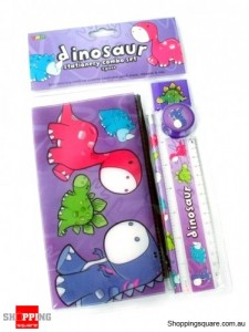 Dinosaur Stationery Combo Set