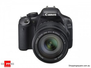 Canon EOS 550D Kit (18-135mm Lens) Digital SLR Camera