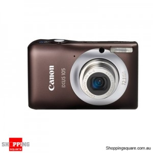 Canon IXUS 105IS Digital Camera Brown