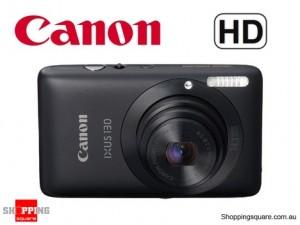 Canon IXUS 130IS 14.1MP Digital Camera Black