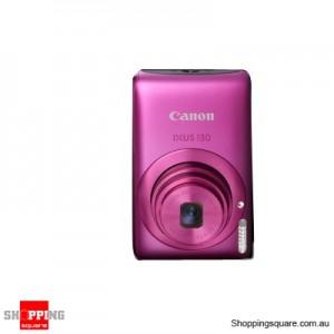 Canon IXUS 130IS Digital Camera Pink
