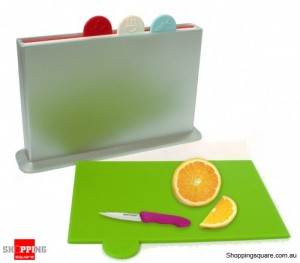 Colour Index Designer Chopping Boards - 4 Colour Coded