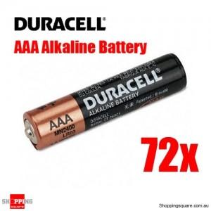 Duracell Coppertop AAA Alkaline Battery 72pc/pk