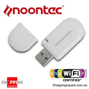 Noontec Wireless USB Adapter Dongle for Media Players