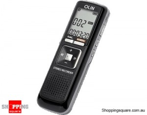 Olin Digital Voice Recorder with 512MB Memory OVR100