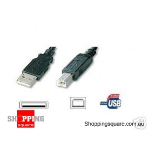 USB Cable for Printers 2 Metres